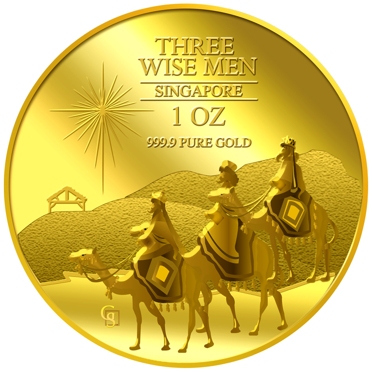 1oz The Wise Men Gold Coin (2ND LAUNCH)