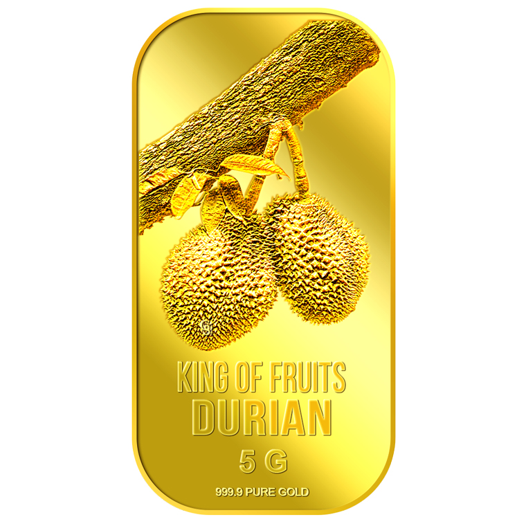 5g King of Fruits Durian Gold Bar