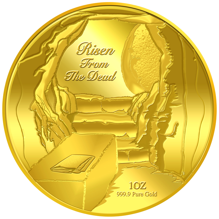 1oz Risen From The Dead Gold Coin (10TH LAUNCH)