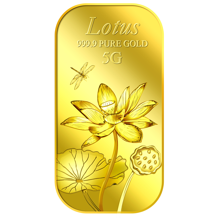 5g Lotus Gold Bar