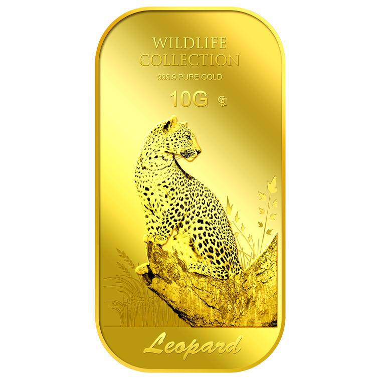 10g Leopard Gold Bar