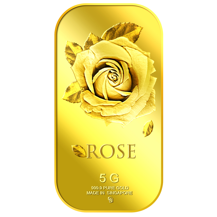 5g Big Rose Gold Bar